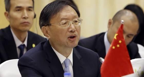 1st senior Chinese official visits Washington in Trump era