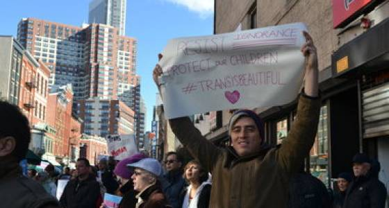 200 call for transgender equality at Jersey City rally