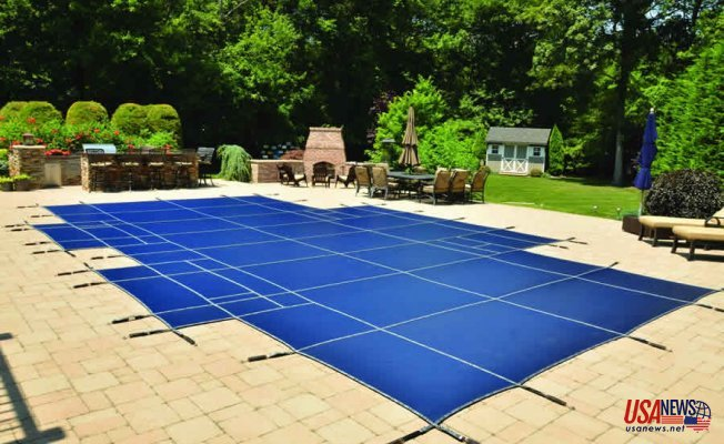LOOP-LOC's Aqua-Xtreme Virtually Solid Mesh Pool Cover—An Industry Standout