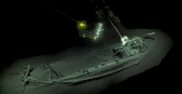 The black sea: a 2,400 year-old shipwreck discovered