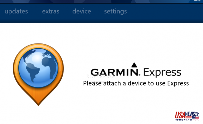 Installing Garmin Express Software