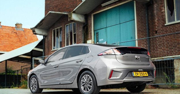 A sensible self-restraint of the new Hyundai Ioniq Electric