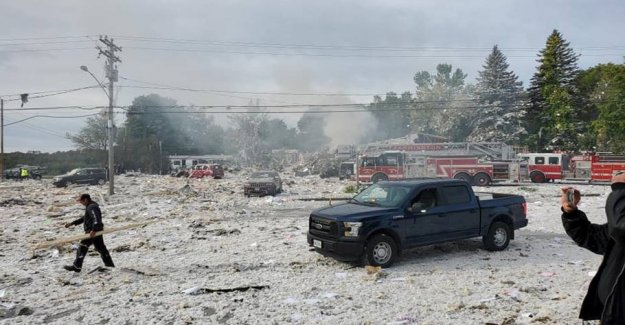 Building exploded in the UNITED states: One killed - several wounded