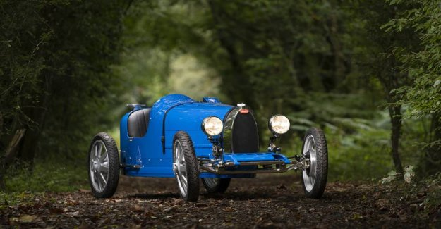 Can you figure it out? Therefore sold this beautiful Bugatti to discountpris