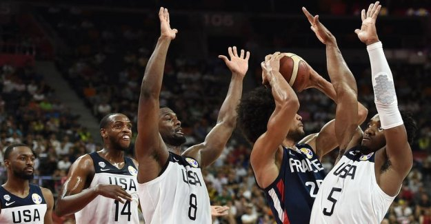 France sends sensationally the UNITED states out of WORLD championship in basketball