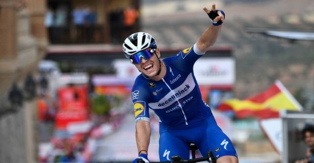 French solosejr on controversial Vuelta-stage