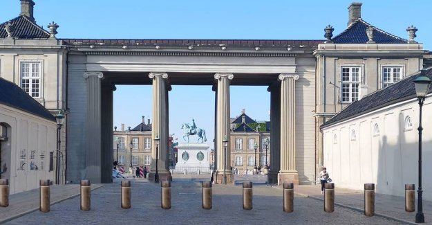 How to get secured Amalienborg to see out