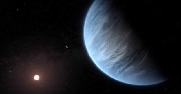 Scientists have discovered water in another solar system