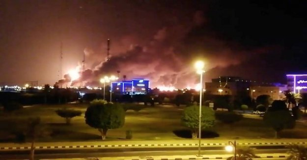 The UNITED states accuses Iran of being behind attacks on saudi oil facilities
