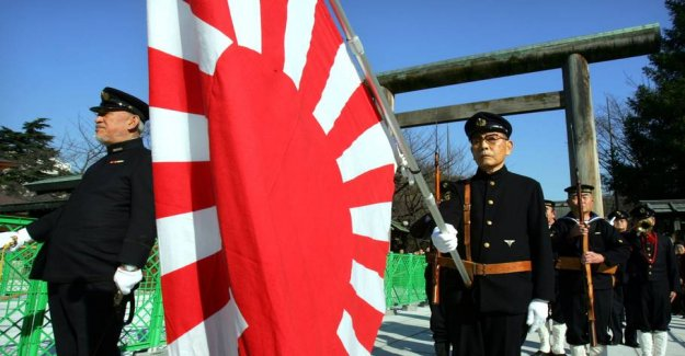 Will prohibit the controversial japanese flag at the OLYMPICS in Japan