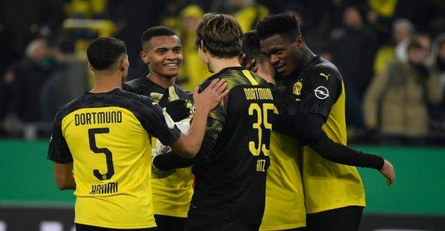 Dortmund ahead after the drama