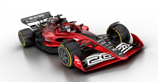 F1-revolution: the Future of the racers revealed