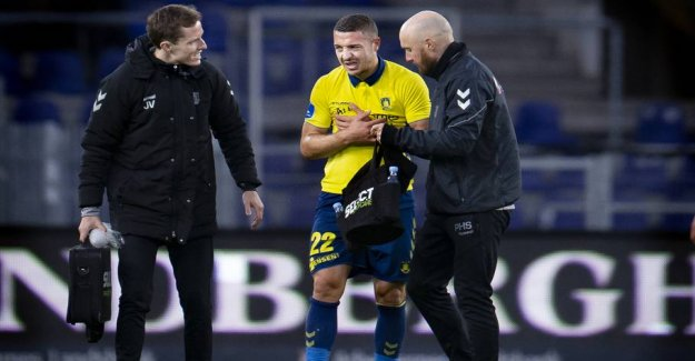 Out for a long time: Brøndby-profile must be operated