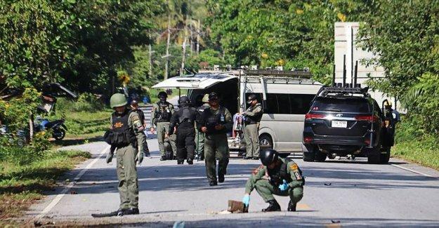 15 is skuddræbt in violent attacks in southern Thailand