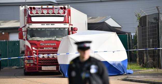 39 found dead in the truck: Eight people arrested
