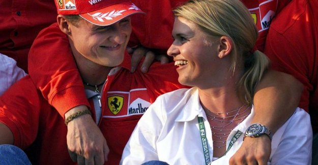 A wife's dream came true: Touching words to Schumacher