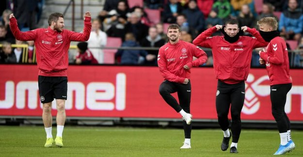 Bad news for Hareide: Hit by the concussion before skæbnekamp
