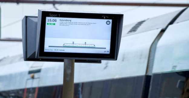 DSB-customers of the new monitors: the text Can be bigger?