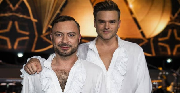 Dancing with the stars-favorites: - We ARE masculine