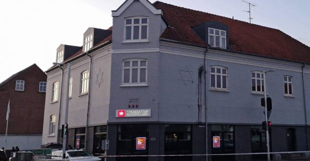 Danish town hit by the appalling vandalism