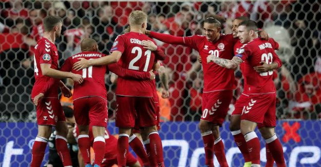 Denmark in the hoopla: Can write the history of skæbnekamp