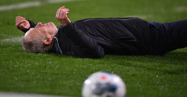 Disgraceful scenes in Germany: Huber trainer down and start chaos