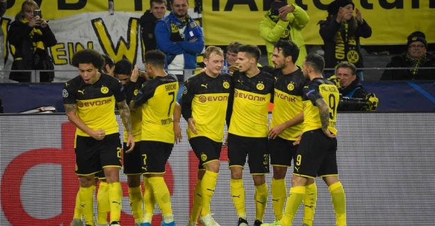 Dortmund's big comeback gives new life in the Champions League