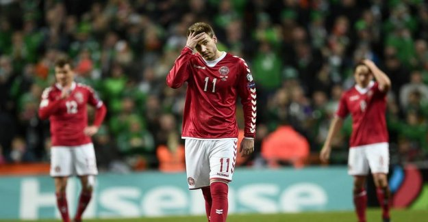 Drowned WORLD cup sorrows: Bendtner bællede bottle to 25,000 crowns