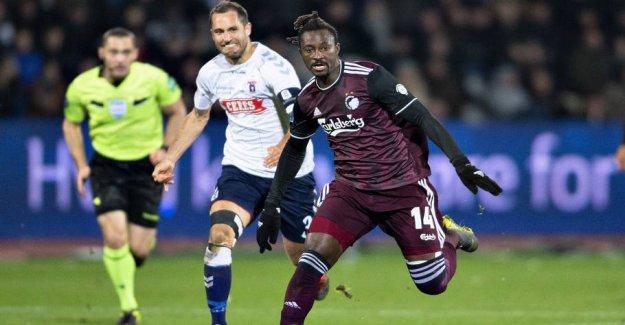 FCK takes NDoye to topbrag against FCM