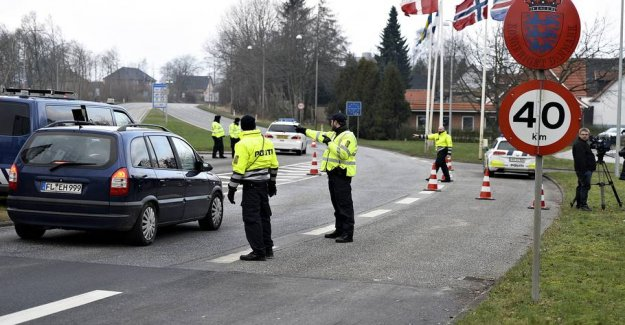 Germany sharpens the border to Denmark