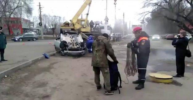 Insane fatal crash: Was boiled alive