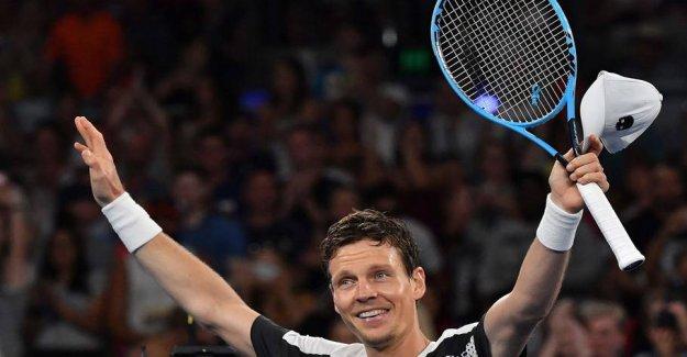 It's over: Tennis star pulls the plug
