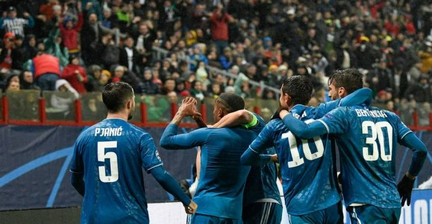 Juventus CL-advance after the winner in overtime in Moscow