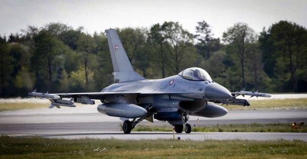 Media: the Government will help 1600 støjramte F-35-neighbours
