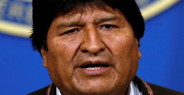 Outgoing president Morales: Bolivian police will arrest me