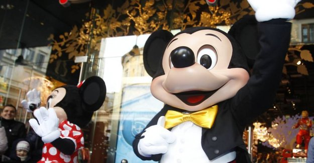 Scandal: Mickey Mouse wrote under the climate wake-up call
