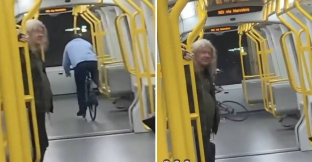 See it here: bike Ride in the metro go completely wrong