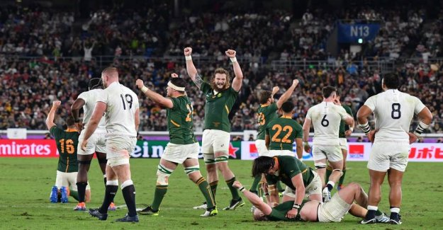 South africa will win the WORLD cup in rugby for the third time