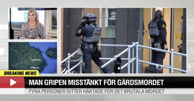 Swedish cottage stormed: Artist arrested for murder