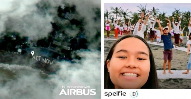 The App takes selfier of you to 36,000 kilometres out in space