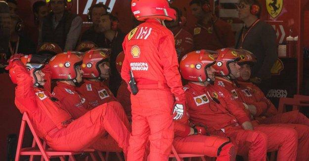 The rumors svirrer: Ferrari cheated themselves to the top speed
