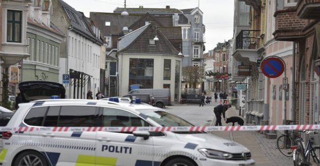 The urban area is blocked off: Investigated rape