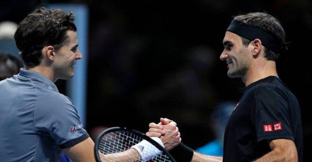 Thiem gives Federer a bad start on the sæsonfinalen