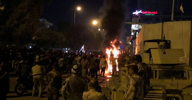 Three protesters are shot and killed during the turmoil in Iraq