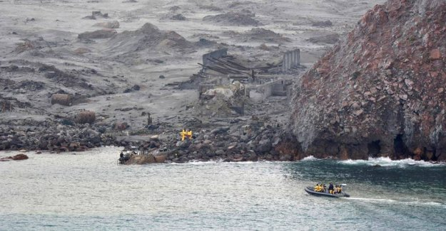 New Zealand stops the search of the two missing from the eruptions