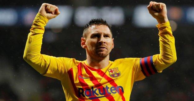 Record: Messi wins Ballon dOr again