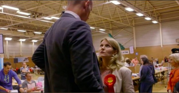 She put Kinnock in place in the unique clip: - Why are you doing this now?