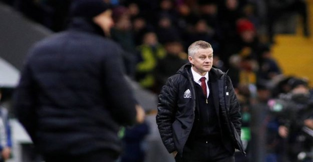 The pressure Solskjær: - They are lying