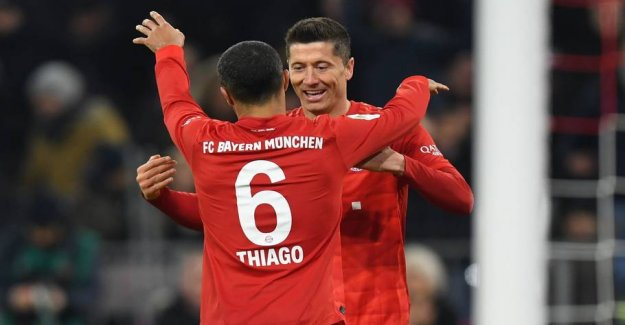 Bayern hands out the damage too