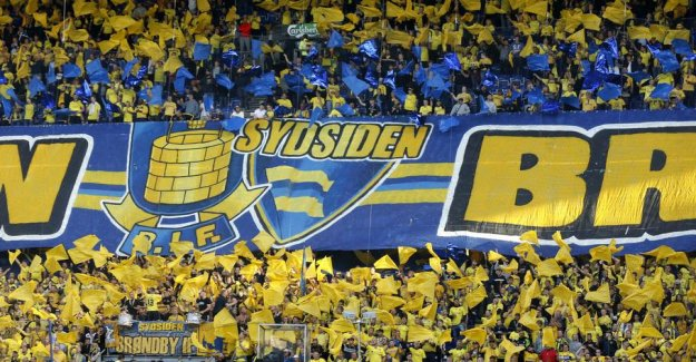 Brøndby-fans with a worried message to the management